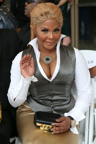 Lil Kim Rapper Lil  Kim attends the Nina Skarra Spring 2013 fashion    Lil Kim 2013
