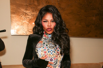 Lil Kim The Blonds - Backstage - MADE Fashion Week Fall 2014