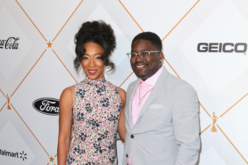 Lil Rel Howery Betty Gabriel 2018 Essence Black Women In Hollywood Oscars Luncheon - Red Carpet