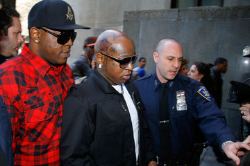 "Ronald ""Slim"" Williams Lil Wayne Arrives In Court For Weapon Charges"