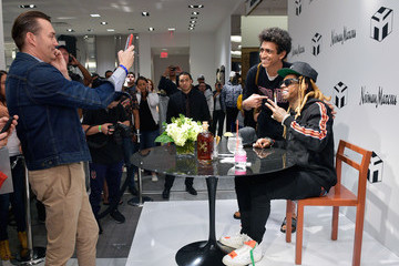 Lil Wayne Neiman Marcus Beverly Hills x Young Money Launch