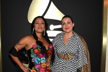 Lila Downs The 57th Annual GRAMMY Awards - Red Carpet