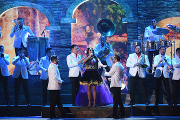 Lila Downs The 18th Annual Latin Grammy Awards - Show