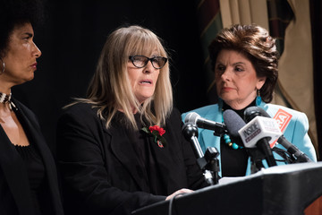 Lili Bernard Gloria Allred Holds Press Conference With Two New Alleged Victims In The Bill Cosby Scandal