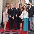 Lili Estefan Tommy Mottola Honored With A Star On The Hollywood Walk Of Fame
