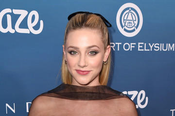Lili Reinhart The Art Of Elysium's 12th Annual Celebration - Heaven - Red Carpet