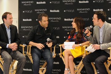 Lillian Vasquez Kenneth Cole And Macy's Herald Square Host Men's Health Ultimate Guy Search