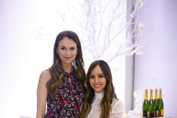 Lilliana Vazquez Bronwen Smith of B Floral Hosts a Private Winter Wonderland Event with Lilliana Vazquez & Sutton Foster at Studio Arte in NYC