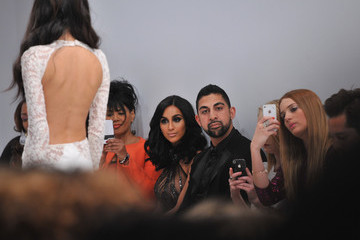 Lilly Ghalichi Michael Costello - Front Row - Mercedes-Benz Fashion Week Fall 2014