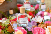 Products are seen during the Lily Aldridge parfums launch event at The Bowery Terrace at the Bowery Hotel on September 08, 2019 in New York City.