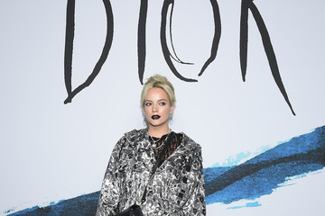 Lily Allen Dior Homme : Photocall - Paris Fashion Week - Menswear F/W 2019-2020
