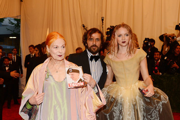 Lily Cole Red Carpet Arrivals at the Met Gala