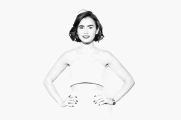 Lily Collins Alternative Views at the 9th Rome Film Festival