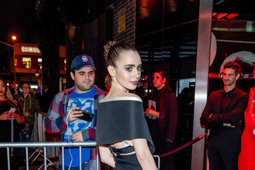 Lily Collins Heavenly Bodies: Fashion & The Catholic Imagination Costume Institute Gala - After Parties