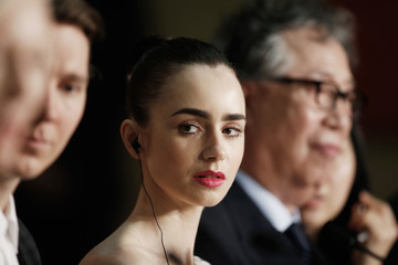 Lily Collins 'Okja' Press Conference - The 70th Annual Cannes Film Festival