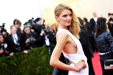 "Lily Donaldson ""Charles James: Beyond Fashion"" Costume Institute Gala - Candids"