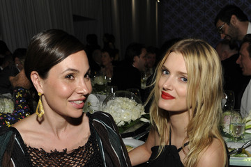 Lily Donaldson MOCA's 35th Anniversary Gala Presented By Louis Vuitton At The Geffen Contemporary At MOCA - Inside
