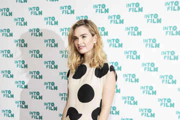 Lily James Into Film Awards - Red Carpet Arrivals