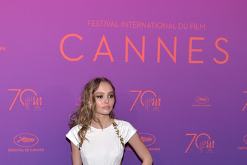 Lily-Rose Depp Opening Gala Dinner Arrivals - The 70th Annual Cannes Film Festival