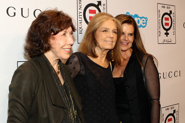 Lily Tomlin Gloria Steinem Arrivals at the 'Make Equality Reality' Event in LA