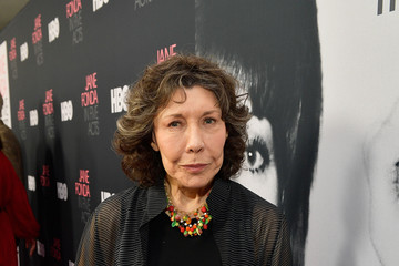 Lily Tomlin Premiere Of HBO's 'Jane Fonda In Five Acts' - Red Carpet