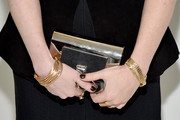 Actress Natasha Lyonne (purse detail) attends LilySarahGrace Presents Color Outside The Lines on October 25, 2014 in New York City.
