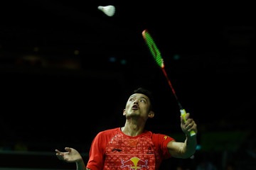 Lin Dan Singapore Open Badminton