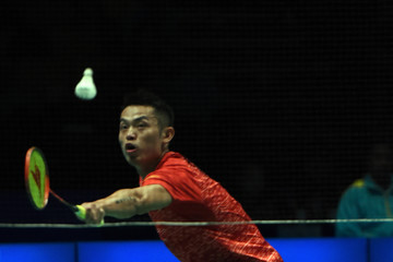 Lin Dan BWF World Super Series Badminton Malaysia Open - Day Three
