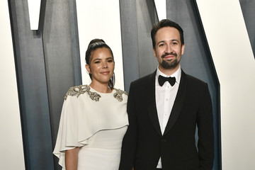 Lin-manuel Miranda Vanessa Nadal 2020 Vanity Fair Oscar Party - Look Book