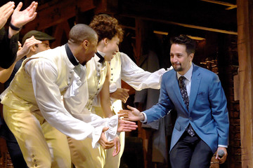 "Lin-manuel Miranda ""Hamilton"" Opening Night Curtain Call"