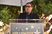 David O. Russell attends a ceremony honoring Lina Wertmuller with the 2,679th Star on The Hollywood Walk of Fame on October 28, 2019 in Hollywood, California.