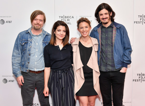 'The Great Pretender' - 2018 Tribeca Film Festival [the great pretender,premiere,fashion,event,photography,fashion design,denim,performance,style,flooring,linas phillips,maelle poesy keith paulson,esther garrel,new york city,cinepolis chelsea,tribeca film festival,screening]