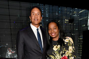 Gala honorees Christopher J. Williams and Janice Savin Williams attend the Lincoln Center Education and Community Engagement Celebration at Frederick P. Rose Hall, Jazz at Lincoln Center on March 7, 2018 in New York City.