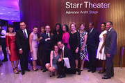 (L-R) Katherine Farley, David Bartsch, Eileen Matthews, Daisey Holmes, Jonelle Procope, Joan Haffenreffer, Fred Terrell, Kim Fortunato, Shanique Robinson, Anthony Robinson, President of Lincoln Center for the Performing Arts, Debora L. Spar and Hall of Fame Inductee Yo-Yo Ma attend Lincoln Center Hall Of Fame Gala at the Alice Tully Hall on June 6, 2017 in New York City.