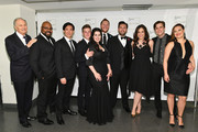 Alan Alda, James Monroe Iglehart, Yunpeng Wang, Petr Nekoranec, Lindsay Mendez, Gavin Creel, Ashley Brown and performers attend Lincoln Center Hall Of Fame Gala at the Alice Tully Hall on June 6, 2017 in New York City.