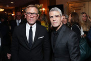 Daniel Craig and Andy Cohen attend the Lincoln Center American Songbook Gala honoring Bonnie Hammer at Broadway Theatre on January 29, 2020 in New York City.