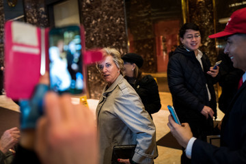 Linda McMahon President-Elect Trump Holds Meetings At Trump Tower In New York