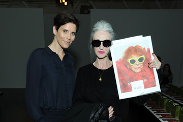 Linda Rodin Karen Walker - Front Row - Fall 2013 Mercedes-Benz Fashion Week
