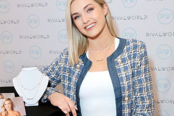 Lindsay Arnold Lindsay Arnold And John Atkins At The RivalWorld Market At Macy's Launch - Macy's Westfield Century City