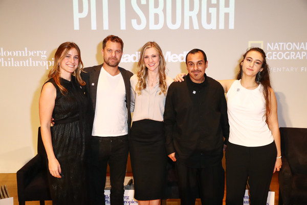 Bloomberg Philanthropies And RadicalMedia Host The Los Angeles Premiere Of 'Paris To Pittsburgh' [social group,event,fashion,team,performance,company,host,lindsay firestone,lauren faber oconnor,jamie margolin,l-r,los angeles,paris to pittsburgh,bloomberg philanthropies,radicalmedia,premiere]
