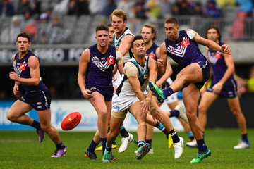 Lindsay Thomas AFL Rd 17 - Fremantle vs. Port Adelaide