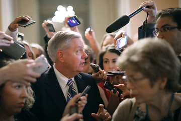 Lindsey Graham Revised Health Care Bill Released by GOP Senators on Capitol Hill