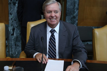Lindsey Graham Former Secretary of State Madeline Albright Testifies to Senate Committee U.S. Democracy Assistance Programs Abroad