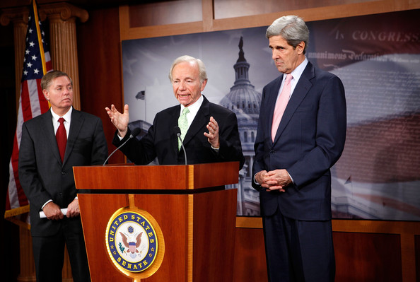 Kerry, Lieberman, And Graham Hold Press Conference On Climate Change