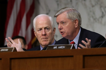 Lindsey Graham Senate Holds Confirmation Hearing For Supreme Court Nominee Neil Gorsuch