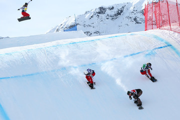 Lindsey Jacobellis FIS Freestyle Ski World Cup - Men's and Women's Snowboardcross