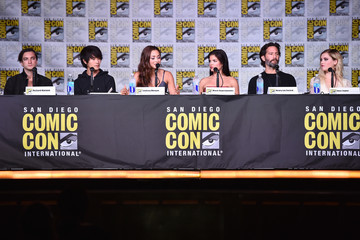Lindsey Morgan Comic-Con International 2016 - 'The 100' Special Video Presentation And Q&A