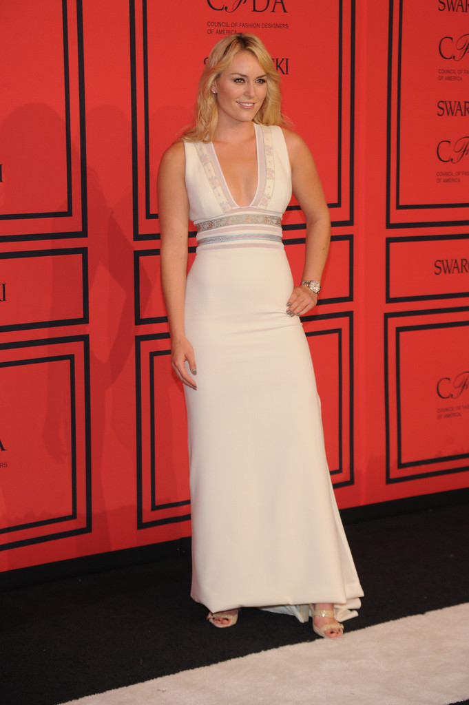 Lindsey Vonn - Arrivals at the CFDA Fashion Awards