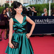 Linh Dan Pham Arrivals at the Deauville American Festivals' Opening Ceremony