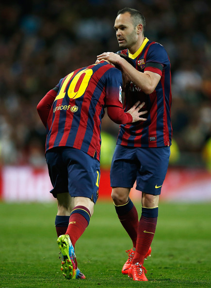 Lionel Messi and Andres Iniesta Photos - 58 of 152